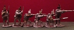 BG-NBR009  British / KGL Infantry - Centre Co. Skirmishing - trousers, with backpacks - stovepipe shako (all 6 variants)