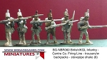 BG-NBR060  British/KGL Infantry - Centre Co. Firing Line - trousers/w backpacks - stovepipe shako (all 6 variants)