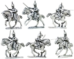 BG-NBR093 Napoleonic British Heavy Dragoons III, (Separate sword arms sprue) 1808-1812 (3 figure pack)