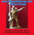 BG-NBR207  British Light Infantry Veteran Sergeant