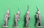 BG-NFR088  French Cavalry Dragoons - Dismounted - Marching (All 4 poses)