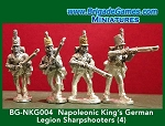 BG-NKG004  King's German Legion Sharpshooters (4)