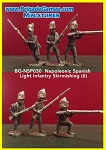 BG-NSP031  Spanish Light Infantry Skirmishing (6)