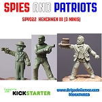 Spies and Patriots - SPY022  Henchmen III (3)