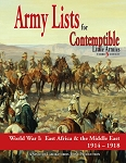 Contemptible Little Armies Lists 2 (Africa, Middle East ,1914-1918)
