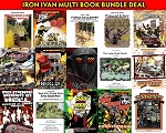 Iron Ivan Print Bundle Deal - Pick any 2 or more Printed Rule books or Scenarios at a special price