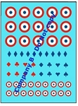 Decals: French Markings Set 3