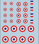 Decals: French Markings Set 1