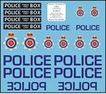 Decals: UK Police and Call Box