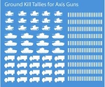 Decals: Axis Ground Kill Tallies