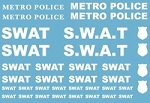 Decals: US Police SWAT Decals