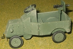 Ford Armored Pickup with HMG gunner (choice of White Russian, Red Russian or Chinese Gunner) (1/56th)