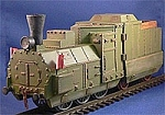 Armored Train Engine/Tender (1/56th)