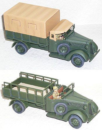 Japanese Izuzu Type 97 Truck with Driver (1/56th)