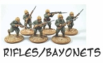 CB-IJAPara02  Imperial Japanese Army Paratroopers - Rifles with Bayonets (6)