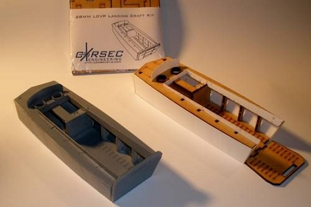 28mm LCVP Landing Craft Kit (SETOF 2 - LAST STOCK)