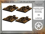 A-INF-04 US 30 Cal HMG Teams (15mm WW2)