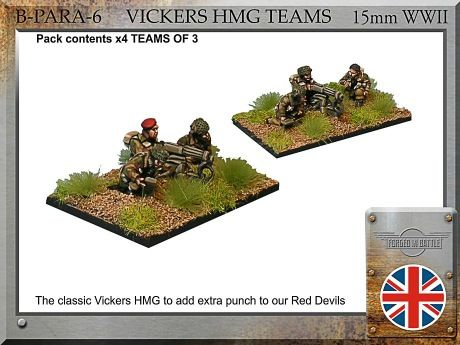 B-PARA-06 British Para HMG  (15mm WW2)