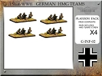 G-INF-02 German HMG Platoon  (15mm WW2)