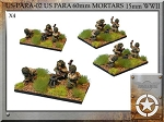 A-PARA-02  US Para 60mm mortar (15mm WW2)