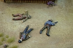 Dead Man's Hand Western Outlaw Casualty Miniatures (3)