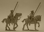 British Cavalry with Lances