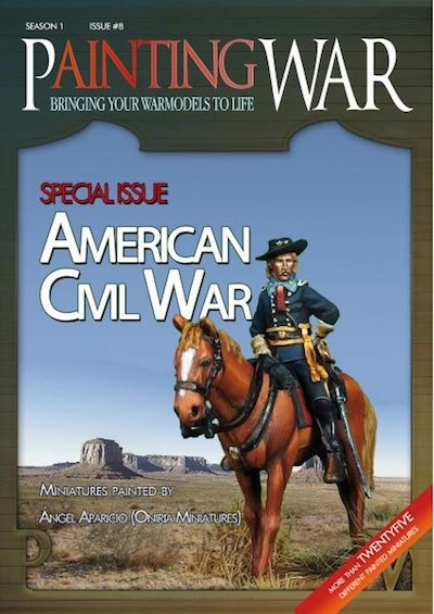 Painting War - Issue #8 - American Civil War