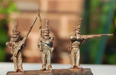 Duchy of Warsaw – Voltiguers - Firing Line (3 figures)