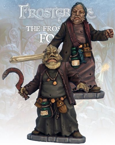 Frostgrave - FGV115 Beastcrafter and Apprentice II