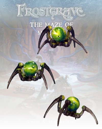 Frostgrave FGV336 - Glass Spiders