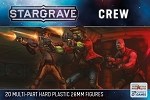SGVP001 - Stargrave Crew (PREORDER - Ships in May. BUYING THIS ITEM ON ITS OWN DOES NOT QUALIFY FOR NICKSTARTER REWARDS. CAN BE ADDED TO A NICKSTARTER ORDER.)