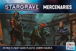 SGVP002 - Stargrave Mercenaries (PREORDER - Ships in May. BUYING THIS ITEM ON ITS OWN DOES NOT QUALIFY FOR NICKSTARTER REWARDS. CAN BE ADDED TO A NICKSTARTER ORDER.)