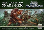 Frostgrave Ghost Archipelago - FGAP02 - Snake-men (plastic multi part figures)