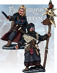 Frostgrave - FGV116 - Barbarian Wizard and Apprentice