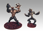 Planet X Menaces (2 figures) (in stock)