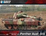 Panther Ausf. D & A (1/56th hard plastic kit)