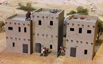 Afghanistan To Middle East Two-Storey Houses  1/56th (Hard Plastic)
