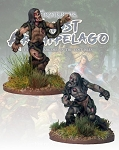 Frostgrave Ghost Archipelago NS-FGA414 - Swamp Zombies