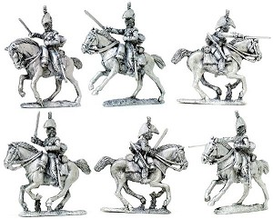 BG-NBR093 Napoleonic British Heavy Dragoons III, (Separate sword arms sprue) 1808-1812